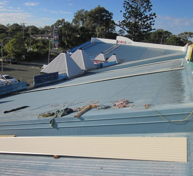 Birkdale Shopping Centre Birkdale Qld Certified Roofing